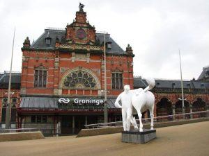 Pferd von Ome Loeks groningen Martini Hotel