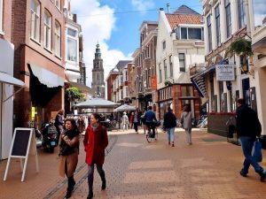 Einkaufen in Groningen Zwanestraat Martini Hotel
